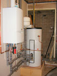Gas Boiler & Hot Water Tank